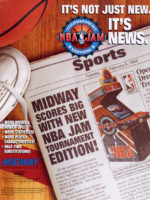 NBA Jam Tournament Edition — 1994 at Barcade® at St. Mark's Place in New York, NY