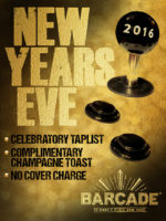 Barcade New Year's Eve Party — December 31, 2015 at St. Mark's Place in New York, NY