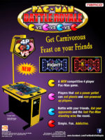 Pac-Man Battle Royale — 2010 at Barcade® at St. Mark's Place in New York, NY