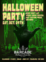 Barcade Halloween Party — October 29, 2016 at Barcade® at St. Mark's Place in New York, NY