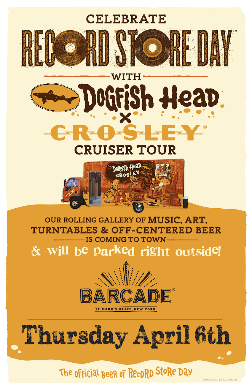 Dogfish Head Crosley Cruiser Day!!!