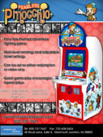Fearless Pinocchio — 2006 at Barcade® at St. Mark's Place in New York, NY   arcade video game