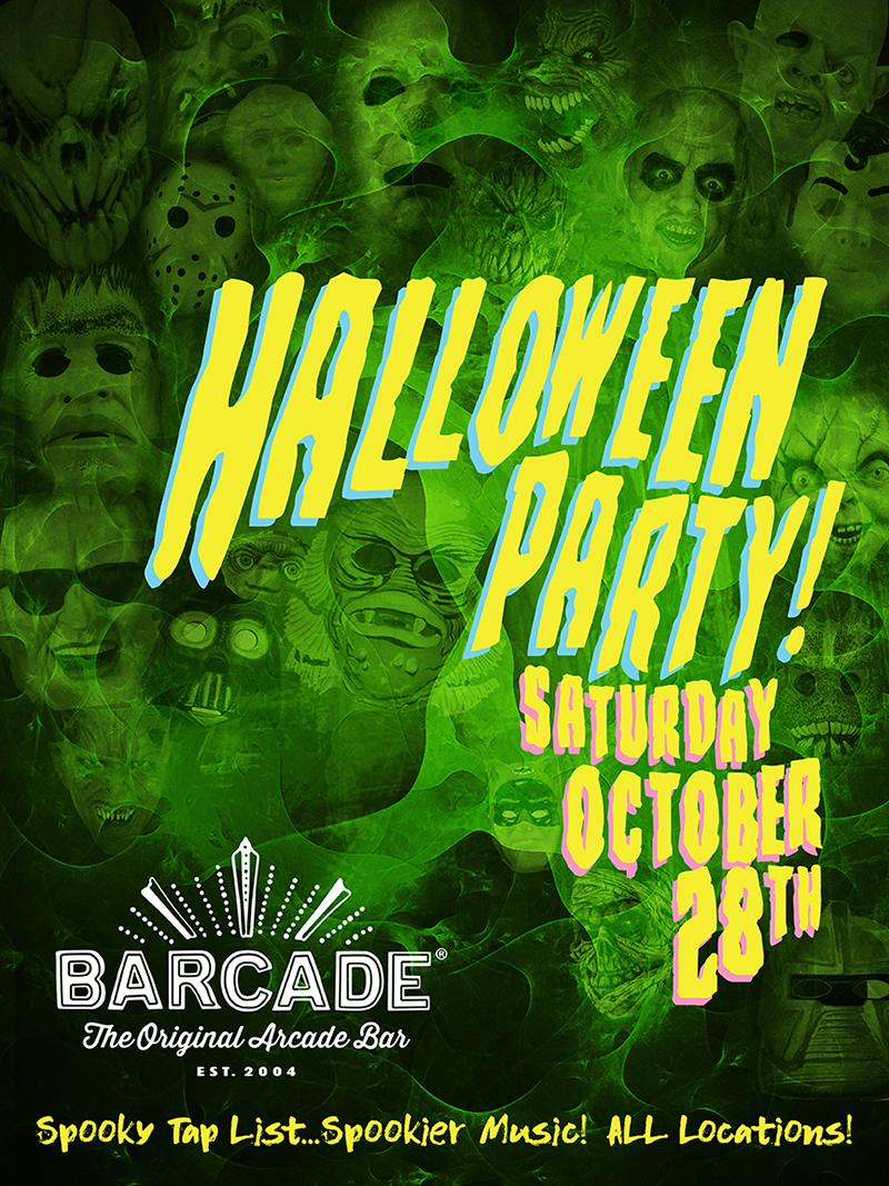 BARCADE HALLOWEEN PARTY!!!