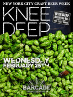 Knee Deep Brewing Co. Night — February 25, 2015 at Barcade® at St. Mark's Place in New York, NY