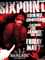 Sixpoint Brewing Night — May 1st, 2015 at Barcade® at St. Mark's Place, New York, NY
