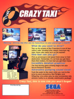 Crazy Taxi — 1999 at Barcade® at St. Mark's Place in New York, NY