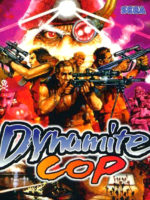 Dynamite Cop — 1998 at Barcade® at St. Mark's Place in New York, NY | arcade video game flyer graphic