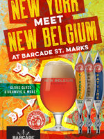 New Belgium NY Release Party — May 16, 2016 at Barcade® at St. Mark's PLace in New York, NY
