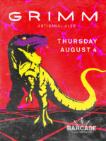 Grimm Artisanal Ales Night — August 4, 2016 at Barcade® at St. Mark's Place in New York, NY
