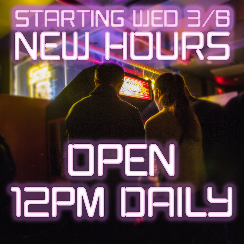 Barcade® at St. Mark's Place - Open daily at Noon starting March 8, 2017