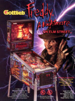 Freddy: A Nightmare On Elm Street (pinball) — 1994 at Barcade® at St. Mark's Place in New York, New York