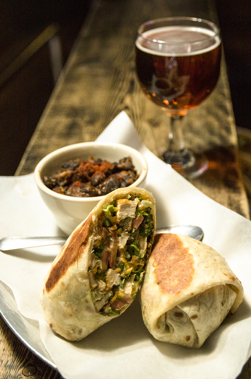Barcade® — St. Marks Place, New York, NY   Chicken Wrap