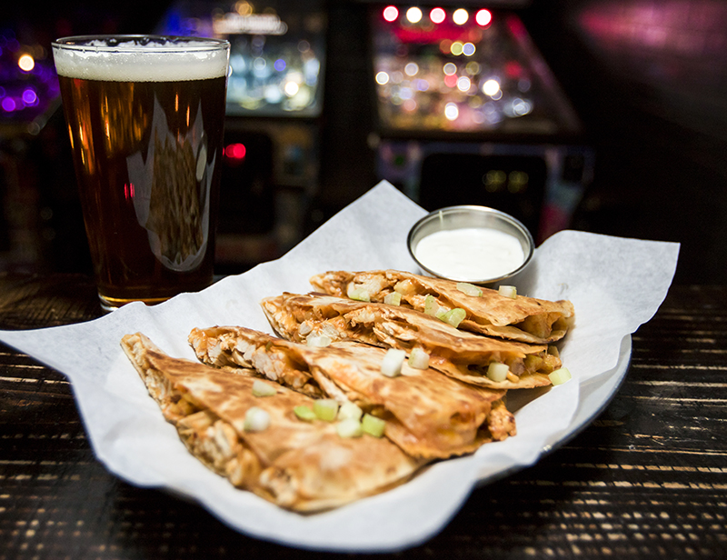 Barcade® — St. Marks Place, New York, NY | Quesadilla