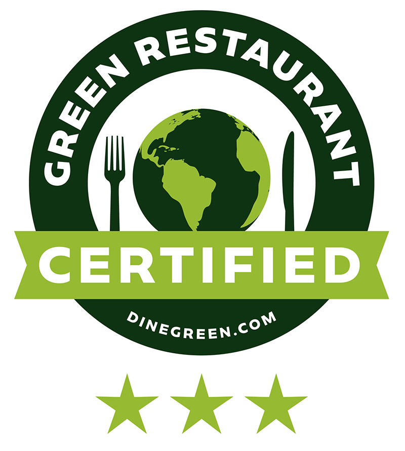 Dine Green Certified — 3 Star at Barcade® at St. Mark's Place in New York, NY