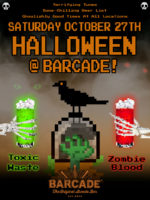 Barcade® Halloween — October 27, 2018 at Barcade at St. Marks in New York, NY.