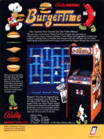 BurgerTime — 1982 at Barcade® at St. Mark's Place in New York, NY | arcade video game