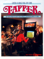 Tapper — 1984 at Barcade® at St. Mark's Place in New York, NY | arcade video game flyer graphic