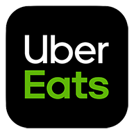 Uber Eats Badge | Click here to order select Barcade food menu items on Uber Eats