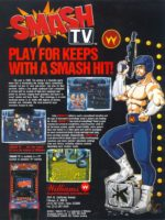 Smash T.V. — 1990 at Barcade® at St. Mark's Place in New York, NY | arcade video game flyer graphic