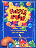 Puzzle Bobble — 1994 at Barcade® at St. Mark's Place in New York, NY | arcade video game flyer graphic