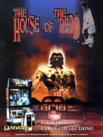House of the Dead — 1997 at Barcade® at St. Mark's Place in New York, NY | arcade video game flyer graphic