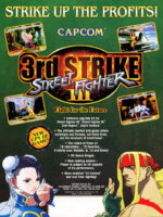 Street Fighter III: 3rdStrike — 1999 at Barcade® at St. Mark's Place in New York, NY | arcade video game flyer graphic