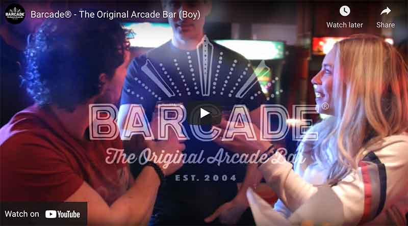 Barcade® YouTube Commercial Link image